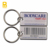 Barcode key chains with unique id number bar code key tag