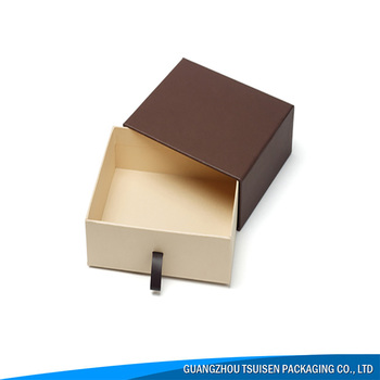Wholesale Luxury Paperboard Box Jewelry Watch Packaging Drawer Paper