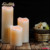 2017 hot seller LED moving flame artificial candle