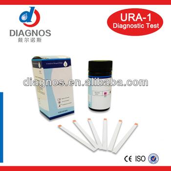Einen Schritt Diagnostische Diabetes Glukose Protein Urin ...