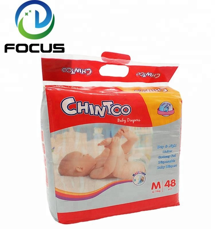 Super Absorbent Colored Disposable Sleepy Baby Paper Diaper Factory Manufacturers in China Fujian