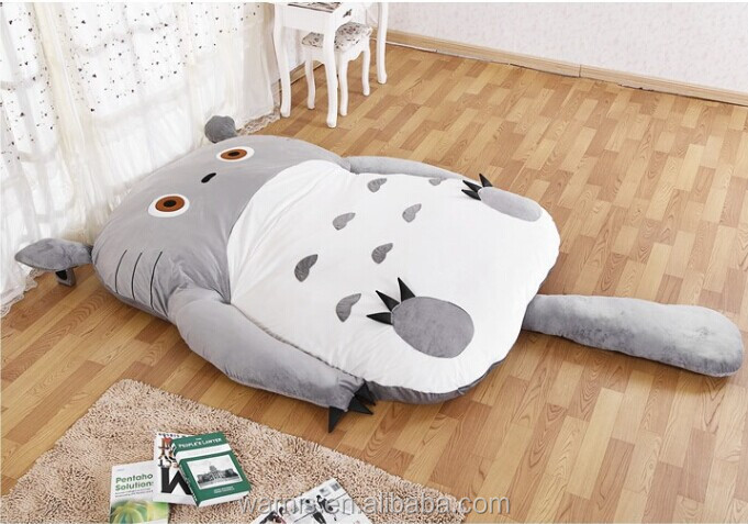 m cama ocio piso colchn tatami doble totoro juguete de peluche para dormir