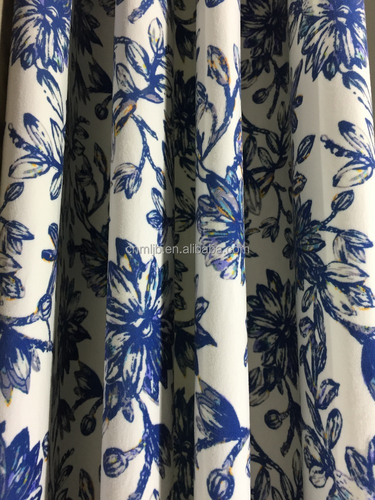 printed velboa for curtain / width 2.3 meteres /100% polyester
