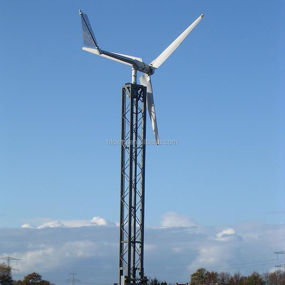 Small Wind Turbine For Home Use Part - 23: 2kw Wind Turbine With Wind Energy Generator 24v 48v 240v 380v