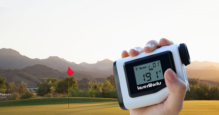 M golf telescope laser rangefinder with eeking and angle