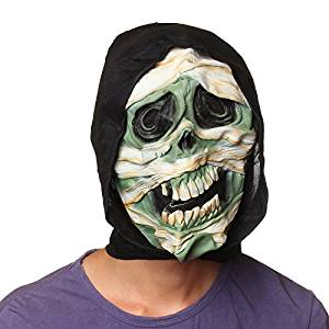 2015 - Wholesale High Quality Slip-On Mask Large Tooth Twisted Face Terror Bandage Latex Party Skull Horror Halloween Mask