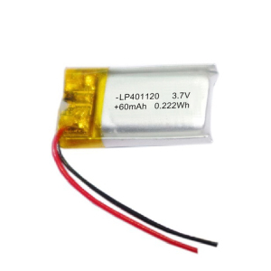 high quality rechargeable 3.7v 60mah li polymer battery lipo battery