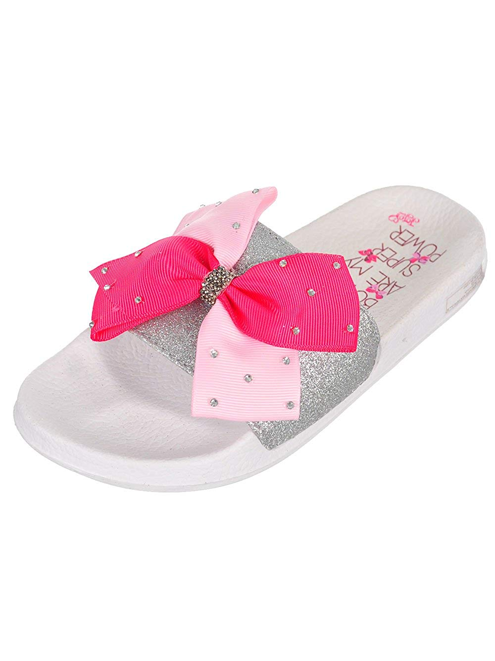 6d183e961 Get Quotations · Jojo Siwa Girls  Slide Sandals