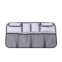 1 шт., автомобильная Задняя сумка для хранения на спинку сиденья, подвесные сетки, карманная сумка-Органайзер для багажника, автоукладка, акс...(Китай)