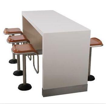 6 Seats Swivel Tall Bar Stools Corian Bar Table Set Buy Tall Bar Chair Bar Stools Swivel Bar Table Corian Stone Product On Alibaba Com