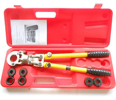 Hydraulic Pex Pipe Tube Crimping Tool Pressing Kit CW-1632 Clamping Tool