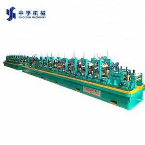 Round/square/rectangular ss pipe making machine line