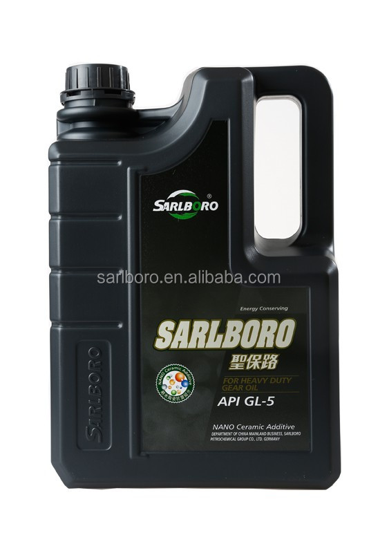 Car gear oil API GL-5 SAE 75w80 85w140 80w90 85w90 automotive gear oil