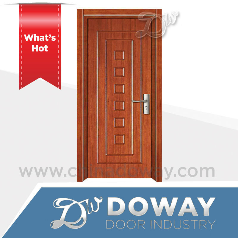 2016 china latest design wooden single main <strong>door</strong> design in pakistan