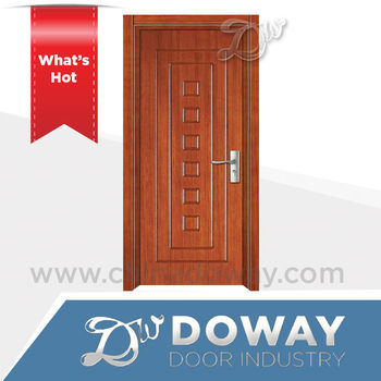 2016 china latest design wooden single main door design in for Latest door design 2016