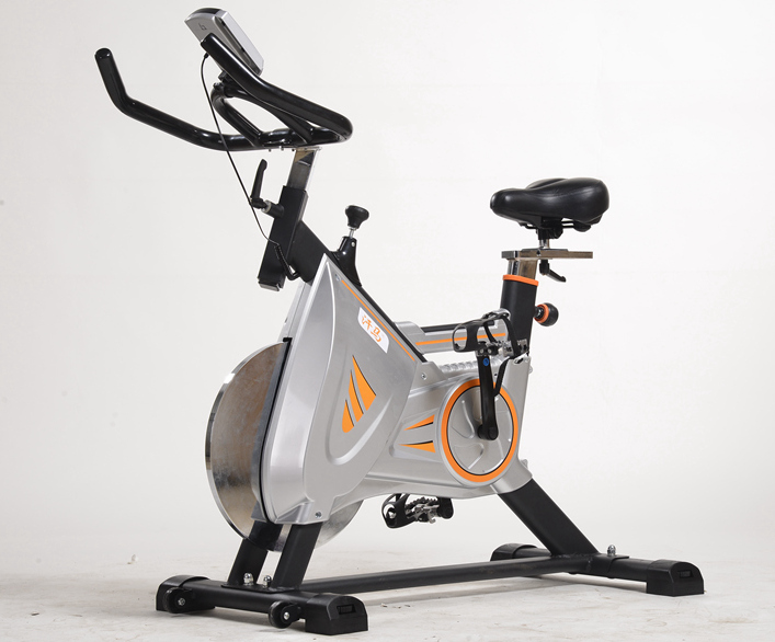 Heimtrainer Cycling Spin Bike mit Konsole