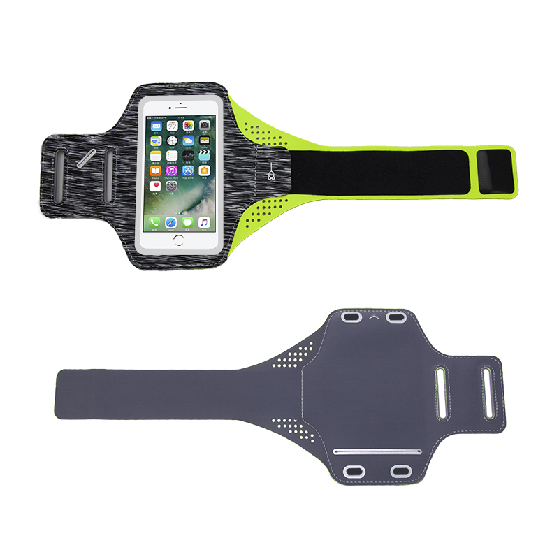 Gym Running Mobile Phone Adjustable ArmBands 6.0 inch Outdoor Lycra Sports Arm band Bags Pouch for iPhone 7p фото