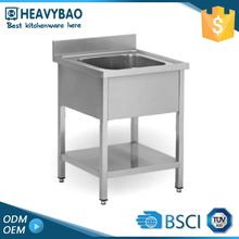 Heavybao High Standard Stainless Steel One Piece Pedestal Sink Valve Stopper
