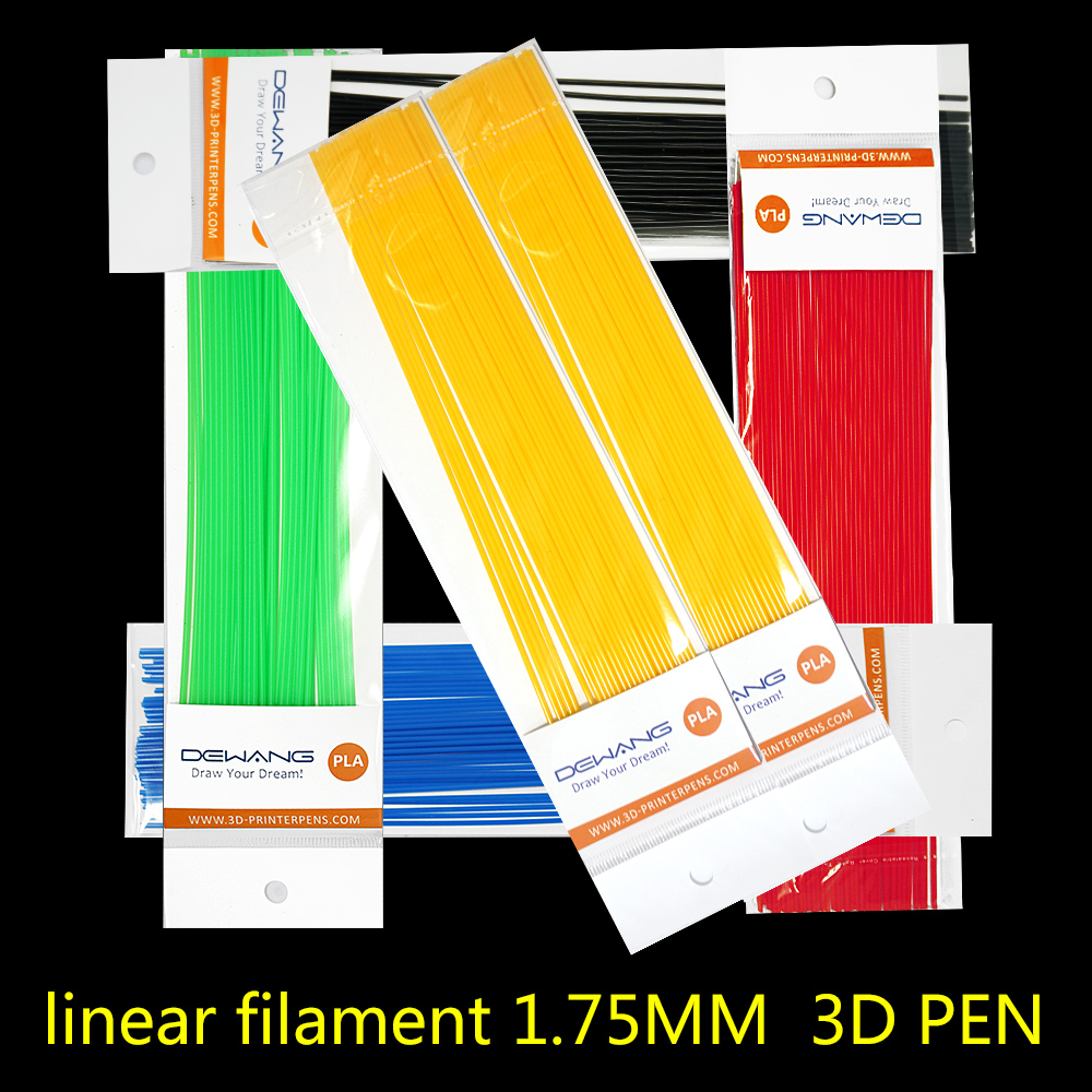 straight PLA 3D pen filament