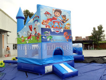 Hot Selling New Design Inflatable Carton Character Combo Castle with Bouncer and Slide