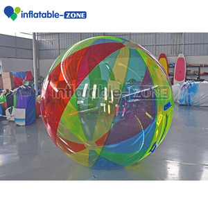 2017 colorful water bouncer ball 12 months guarantee inflatable water walking zorb pool ball