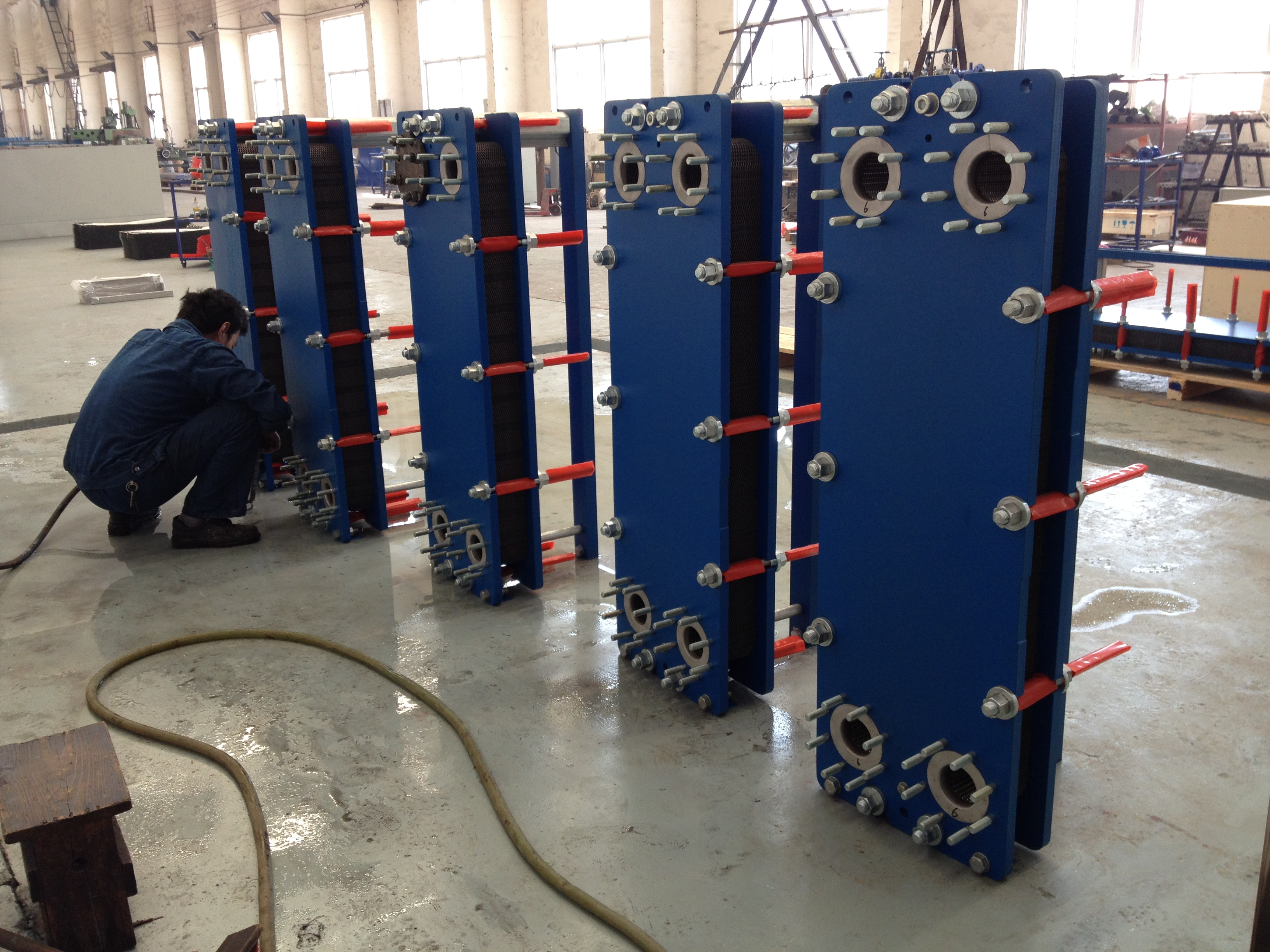 Hot selling machine m20 plate heat exchanger gasket with Best price high quality