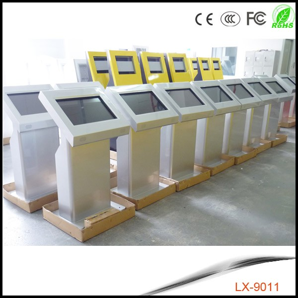 information advertising touch screen kiosk customized digital signage open source network led capacitive display