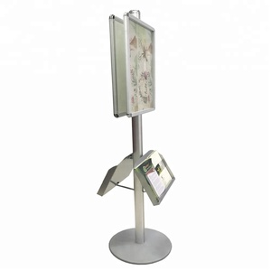 outdoor double sides advertising stand poster display