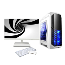 Oem durable 24 inch desktop gaming computer i7 pc