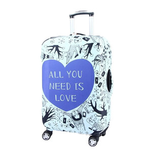 promotion polyester Greatly fasten suitcase cover luggage