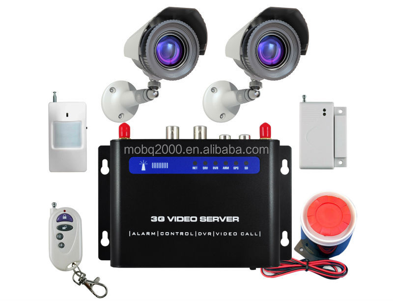 home security 3g wireless alarm system 3G camera alarm ip camera with i/o alarm