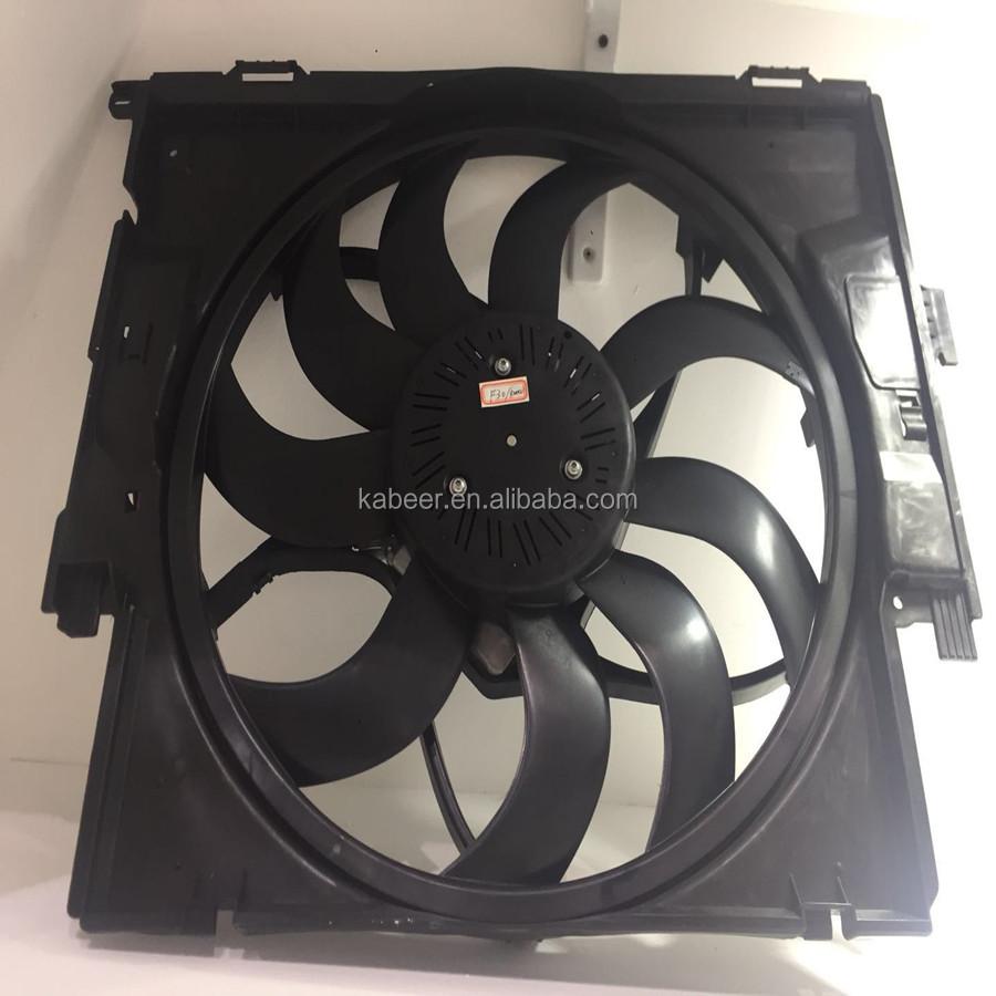 "Black 16/"" High Performance Electric Cooling Pull Slim Radiator Fan For Subaru"