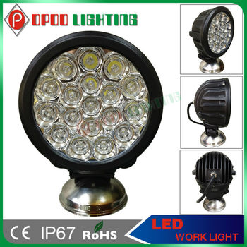 Super Bright 5w Cree Led Chips 90w 7 Inch Led Headlight