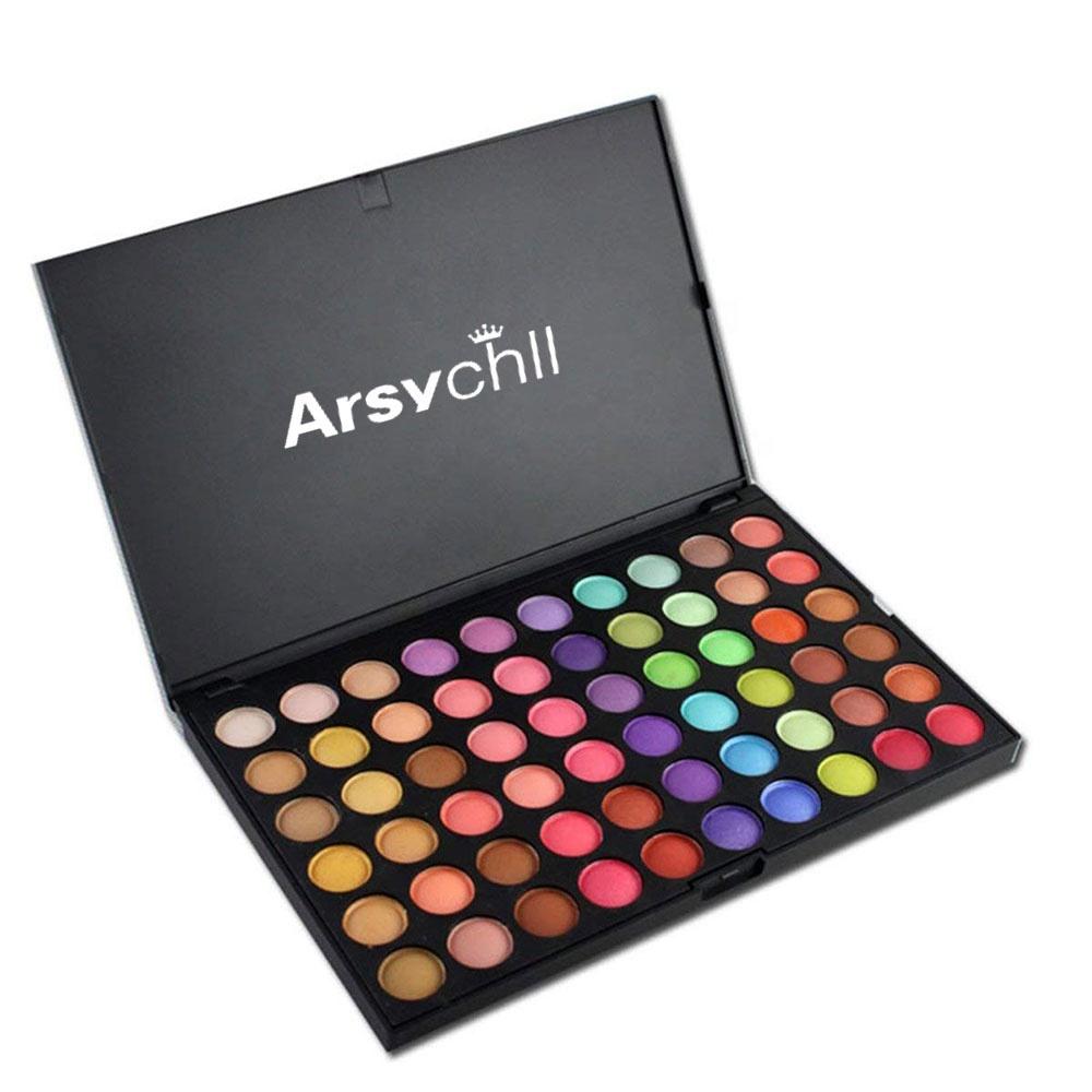 Fabrikant Cosmetische groothandel make geen logo 120 kleuren oogschaduw palet