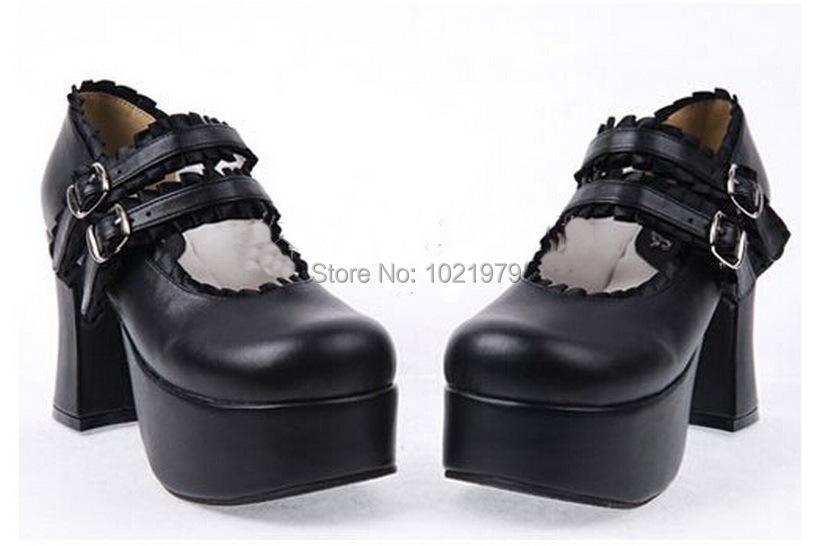 Get Quotations · Popular women s lolita shoes single shoes platform gothic  princess shoes single shoes 8029d 0d5ca13b4c96
