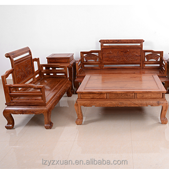 Living Room Solid Wood Sofa Set, Living Room Solid Wood Sofa Set Suppliers  and Manufacturers at Alibaba
