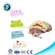 Cute Baby Dog Microfiber Hooded Towel For Pets Personalized Cat Bath Poncho