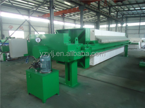 2000 frame and plate filter press/big water filter machine price