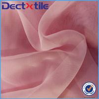Woven plain chiffon 100% polyester international fashion fabrics for dress