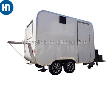 Commercial Trail-type Fast Food Trailer / Fast Food Mobile Kitchen ...