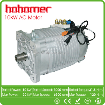 Hohomer hm 10 10kw 6000rpm electric motor kit three phase for 10 kw dc motor