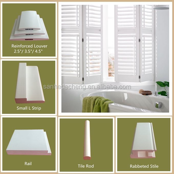 PVC Material Plantation Shutters From China With Good Quality