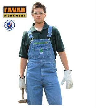 11f47ba46583 Men s Denim Overalls Bib And Brace Workwear - Buy Denim Overalls Bib ...