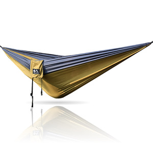 "Double Parachute Camping Hammock *START UP COMPANY ""Shaking The Eagle Out Of The Nest Since 2016"