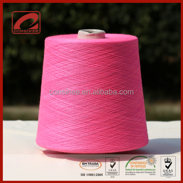 Consinee wool acrylic yarn stock and custom 40% wool 60% acrylic yarn made in china