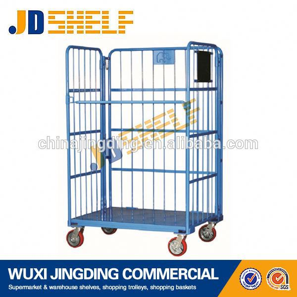Good Quality Custom industrial roll container roll trolley cart