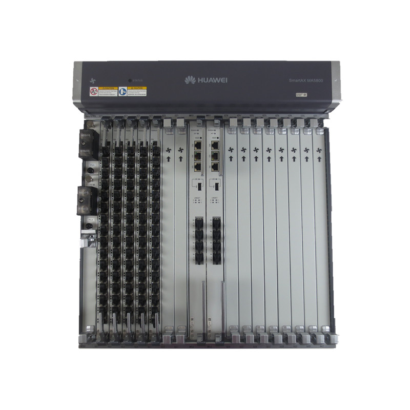 Hua Wei Olt Smartax Ma5800-x7 Included 2*pila And 2*mpla And 2*16 Ports Boards Gphf With 16 C Cellphones & Telecommunications Sfp