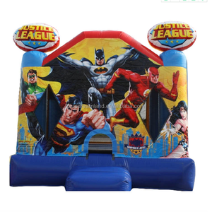 New product Justice League inflatable bouncer/ bounce house/ jumping castle manufacturer China