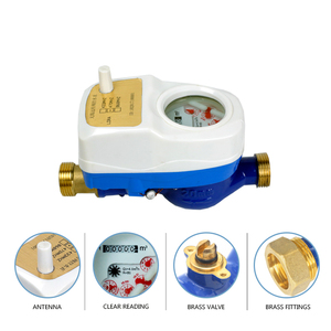 Wireless water temperature smart water meter gsm