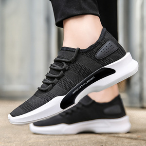 Cheap Wholesale New Men's Breathable Sports Shoes Korean Fashion Casual Running Shoes